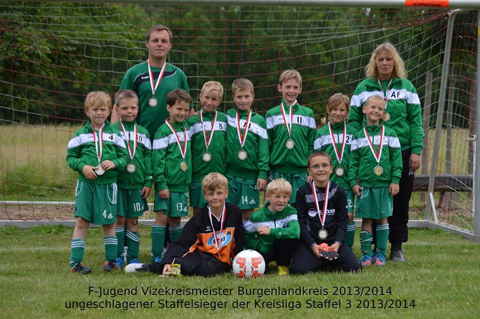 f-junioren 2. platz 2014